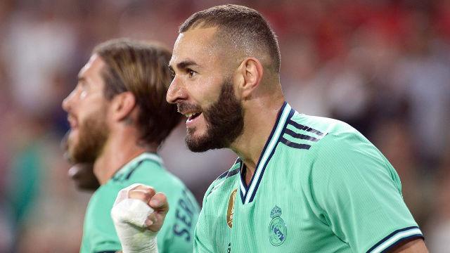 El Madrid venció al Sevilla para colocarse como colíder