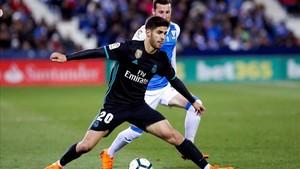 Marco Asensio castigó con su talento a la defensa del Leganés