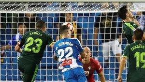Mario Hermoso, un defensa que también tiene gol