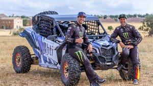Monleón es el nuevo copiloto de Farrés para el Dakar