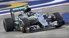 Nico Rosberg en pole en Singapur