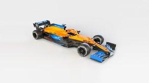 El nuevo McLaren MCL35 de Sainz y Norris