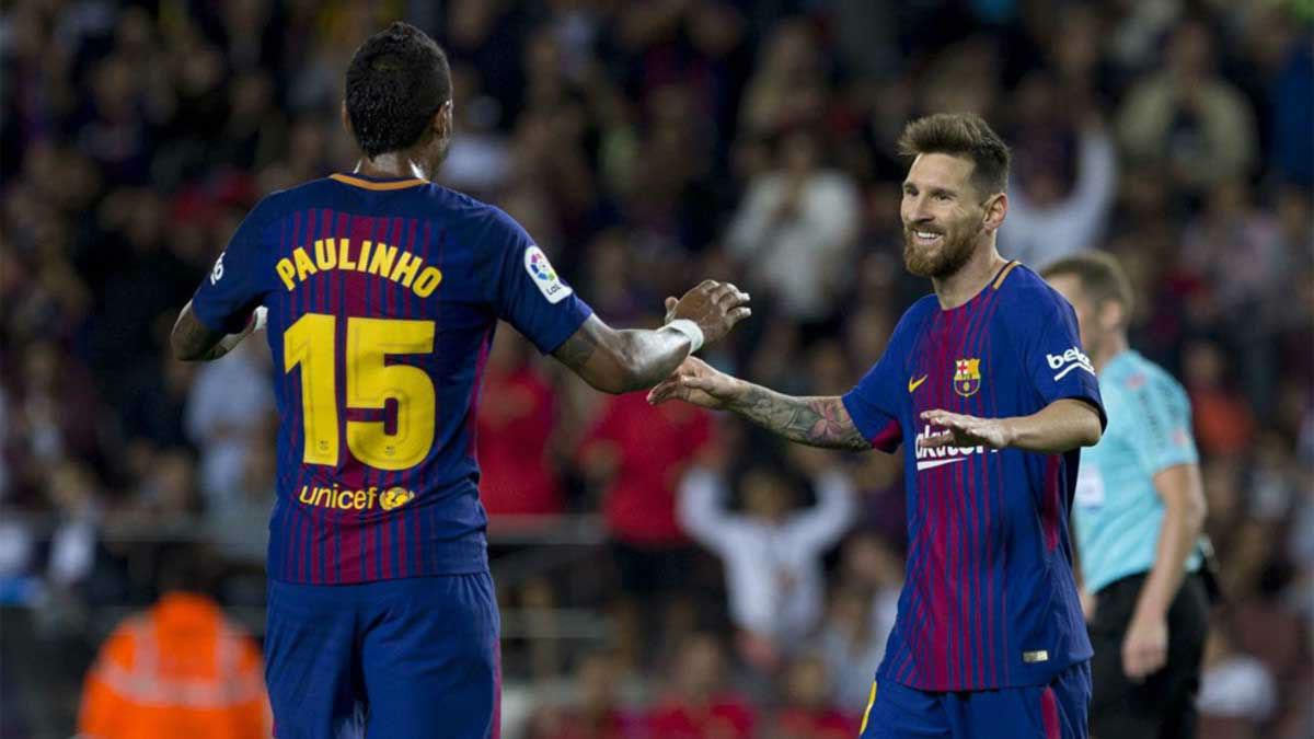 El once del FC Barcelona ante el Celta
