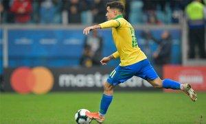 Philippe Coutinho consiguió con Brasil y el Barça el récord de partidos en la temporada 2018/19