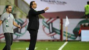 Pizzi ha sido dos años seleccionador de Arabia Saudita