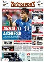 La portada de Tuttosport del 25 de junio