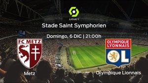 Previa del partido: el FC Metz recibe al Olympique Lyon en la decimotercera jornada