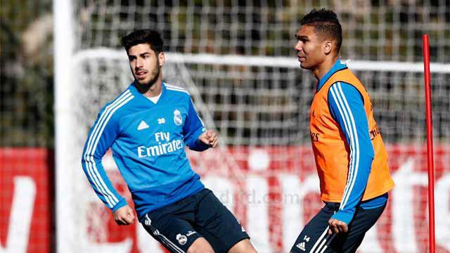 El Real Madrid comenzó a preparar el partido ante el Ajax