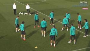 El Real Madrid se entrenó en Valdebebas