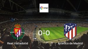 Real Valladolid plays to a goalless draw against Atlético de Madrid at José Zorrilla