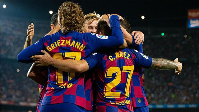 Remontada de campeón, y sin Messi