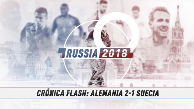 Rusia 2018 | Kroos rescata a Alemania en el tiempo de descuento