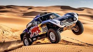 Sainz, fuera del Rally de Marruecos por problemas mecánicos