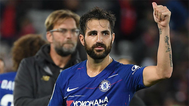 Chelsea attacker Hazard pays tribute to departing Fabregas