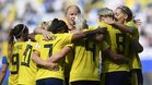 Suecia logró superar por la mínima a Alemania en los cuartos de final