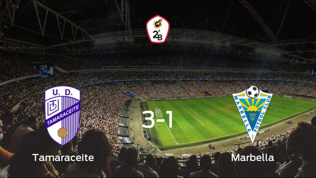 El Tamaraceite vence 3-1 al Marbella en el Juan Guedes 2