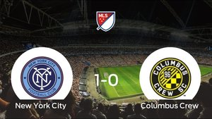 Tres puntos para el equipo local: New York City 1-0 Columbus Crew