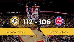 Triunfo de Indiana Pacers en el Bankers Life Fieldhouse ante Detroit Pistons por 112-106