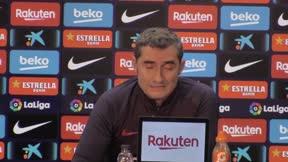 Valverde sobre Dembélé: Nos da mucho y esperamos más