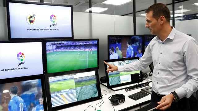 El VAR se estrena en La Liga