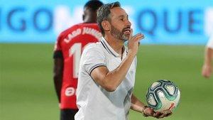 Vicente Moreno ha estado tres años en el Mallorca