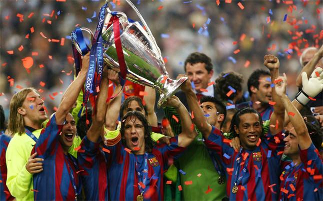 La segunda Champions del FC Barcelona  París 2006 479aafcfaec82