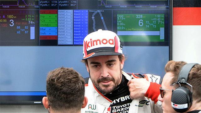 Alonso: El coche ha nacido para correr en Le Mans, tenemos buenas sensaciones