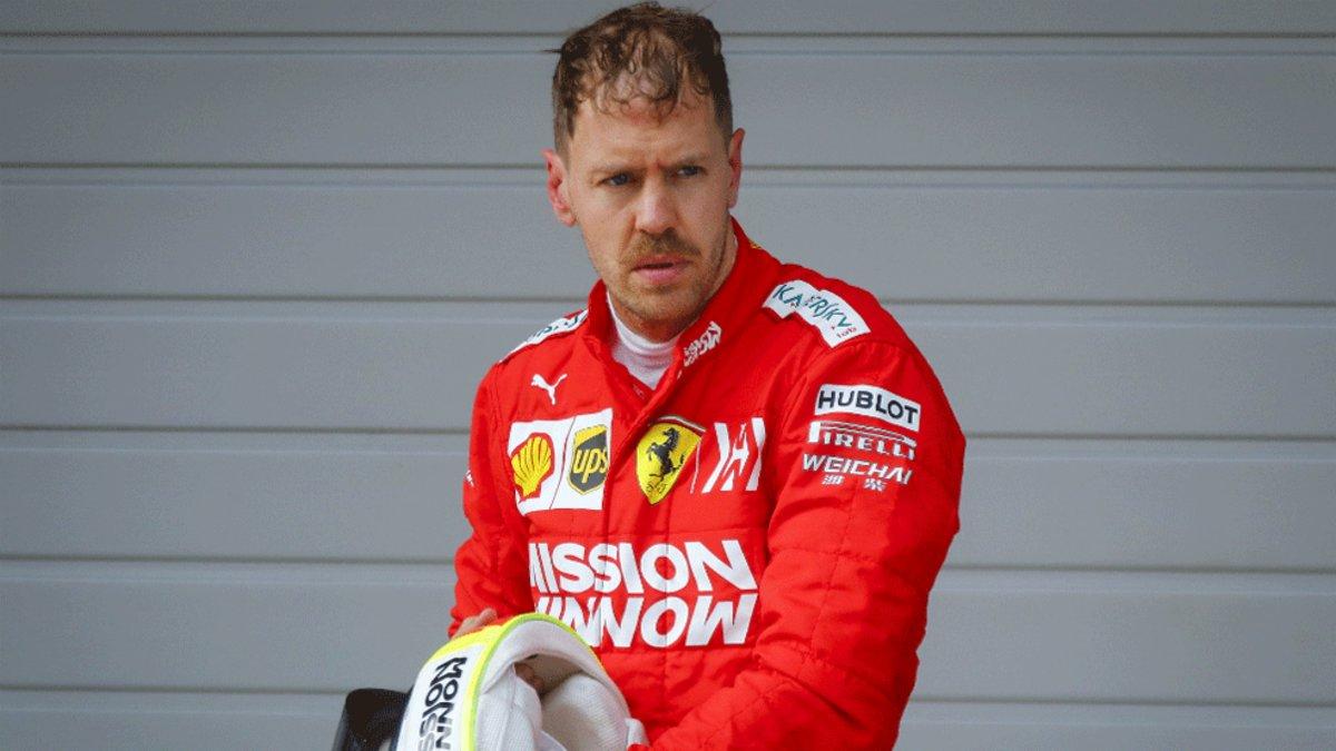 Máxima tensión en Ferrari por la crisis de Vettel