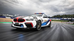 BMW M8 MotoGP Safety Car.