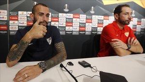 Aleix Vidal, recuperado recientemente de una lesión, podría tener minutos