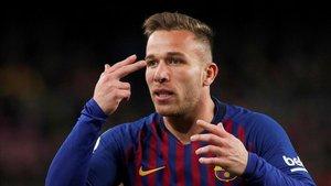 Arthur quiere volver contra el Madrid