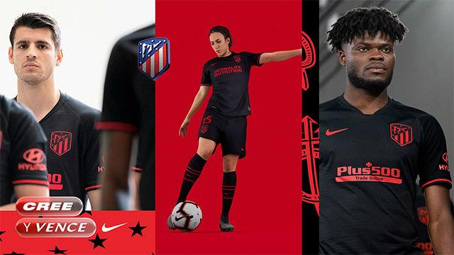 Así es la segunda equipación del Atlético de Madrid