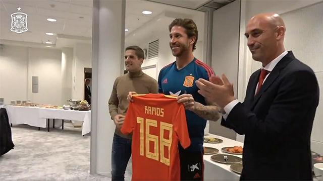 Así vivió Sergio Ramos el día que hizo historia con la selección