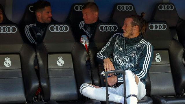 Bale no se pudo despedir de su afición