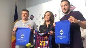 El Barça Lassa agradeció que Encamp los vuelve a acoger un año más