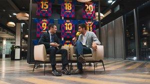 Bartomeu concedió una entrevista a Catalunya Ràdio