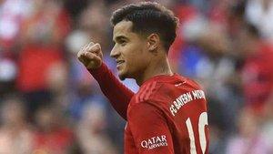 El Bayern de Coutinho defiende una jornada más el liderato en Alemania