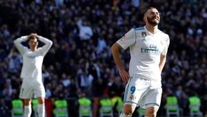 Benzema volvió a escuchar pitos en el último clásico