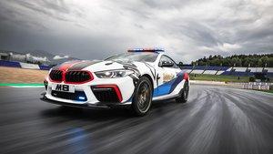 BMW M8 MotoGP Safety Car.