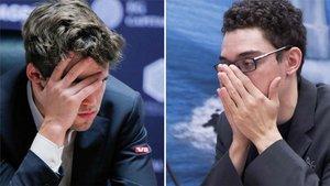 Carlsen y Caruana vuelven a cruzar sus caminos en Londres
