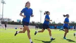 Caroline Graham Hansen ha empezado la pretemporada con el Barça femenino