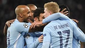 Cómoda victoria del Manchester City en Basilea (0-5)