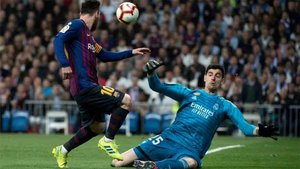 Courtois se verá las caras con Leo Messi