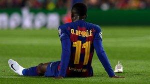 Dembélé podría jugar en Champions pero no en Liga.