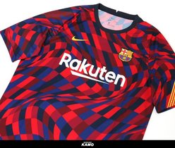 Esta será la camiseta prematch del Barça en 2021