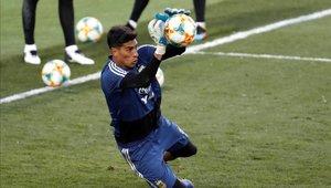 Esteban Andrada se perfila como el posible arquero titular de Argentina para la Copa América