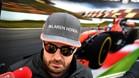 Fernando Alonso en Rusia