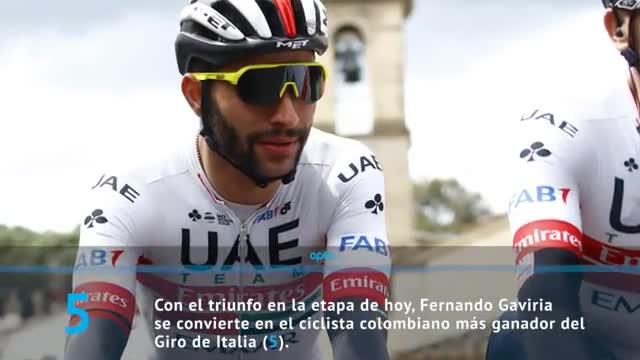 Gaviria, el colombiano con más victorias en el Giro