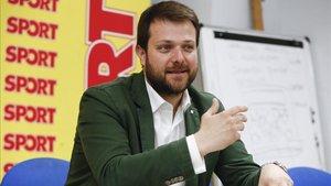 Gerard Figueras, director General de Deportes de la Generalidad de Cataluña