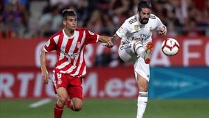 El Girona sólo ha sucumbido esta temporada frente al Real Madrid